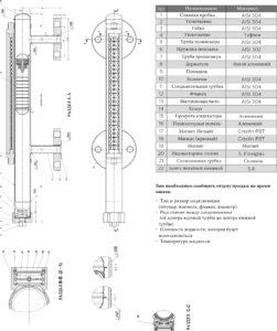 Магнитный измеритель уровня МG-33S