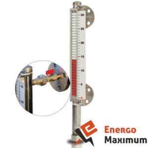 Магнитный указатель уровня со шкалой МG-33SC, Магнитный измеритель уровня со шкалой МG-33SC