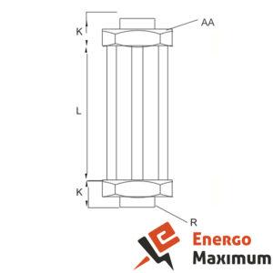 Указатель уровня жидкости AELD-11 - схема