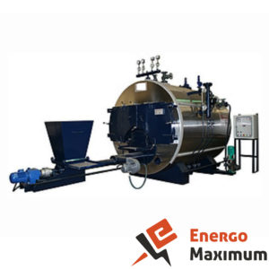 Котел паровой многотопливный с подачей вручную твердого, жидкого топлива или вариант на газообразном топливе типа g-sf