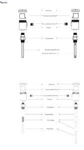 Схема уровнемера в разборе